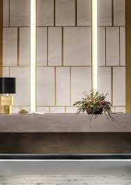 Concrete Reception Desk Concrete Aesthetics Of Corian Corian