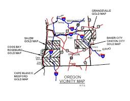 map of oregon gold mines oregon gold maps oregon gold panning oregon gold placers oregon