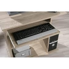 bureau informatique compact bureau compact à roulettes durini desserte informatique en bois