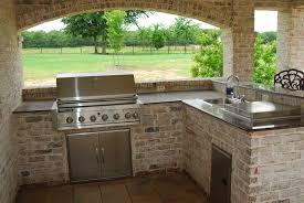 Outdoor Kitchen With Sink Kitchen Outdoor Kitchen Sink Inside Magnificent Outdoor Sink
