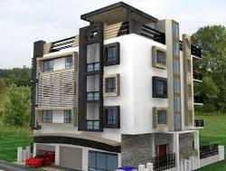 Plain D Apartment Design Exterior Desifn Rendring For Highrise - Apartment exterior design