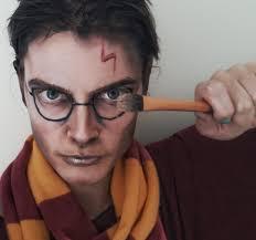 harry potter makeup facepaint transformation youtube