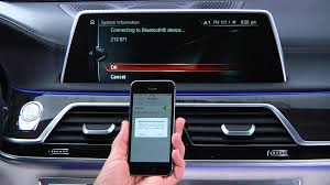 pair your iphone via bluetooth bmw genius how to youtube