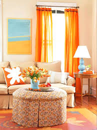 Blue And Orange Curtains Orange And Navy Curtains Living Room Top Orange Living Room