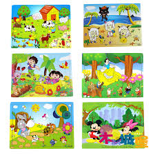 wood yakuchinone flat story puzzle wooden wooden play