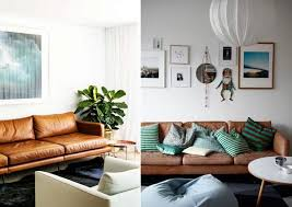 canape deco cuir le dé déco un canapé en cuir vs un canapé en tissu à lire