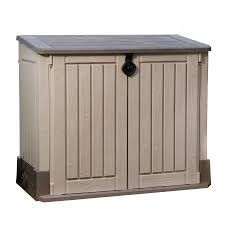 Outside Storage Shed Plans Suncast Highland 7 Ft 6 In W X 7 Ft 2 In D Plastic Storage Shed