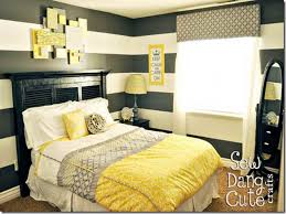 Yellow And Grey Room Black And White And Yellow Bedroom And Stylish Combination Yellow