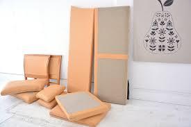 Tan Coloured Leather Sofas Cherry Frame Leather Sofa Danish Homestore