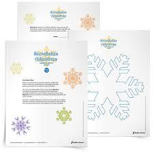 snowflake writing template eliolera com