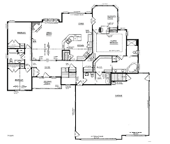 ranch with walkout basement floor plans house plans ranch house plans walkout basement home