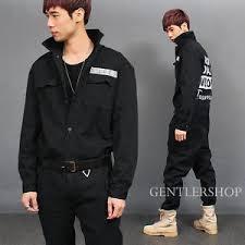 mens black jumpsuit mens fashion overall cargo pocket black denim biker jumpsuit