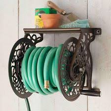 aluminum wall mounted garden hose reels u0026 storage equipment ebay