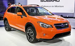 subaru orange crosstrek 2013 subaru xv crosstrek 2012 new york auto show motor trend