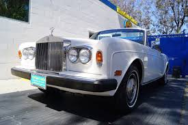 rolls royce dealership 1984 rolls royce corniche stock 997 for sale near torrance ca