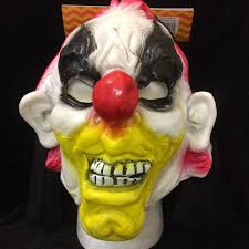 halloween mask clown creepy horror dead doll ghost mask halloween costume accessory