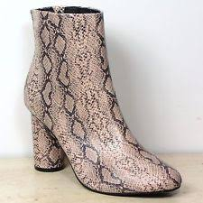 womens boots marks and spencer marks and spencer zip print boots for ebay