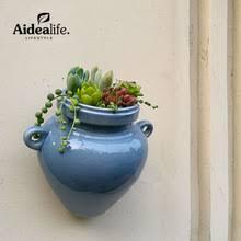 blue ceramic planters reviews online shopping blue ceramic
