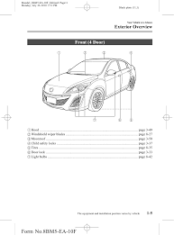 2012 mazda mazdaspeed3 hatchback owners manual provided by naples maz u2026
