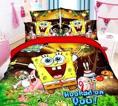 Spongebob Bedding Sets Quilts Patterns For Beginners New Spongebob Character Bedding Sets