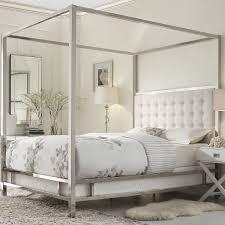 modern metal canopy bed frame metal canopy bed frame design