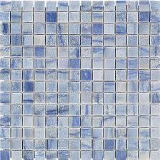 blue macauba 3 4 x 3 4 tile shop tiles at tilebar com
