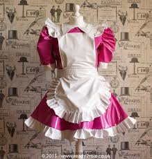 sissy dress pvc maid dress the alice even more