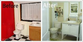 Bathroom Makeovers Before And After Pictures - before and after a bathroom story fox hollow cottage