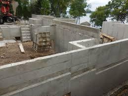poured concrete foundation walls regency builders