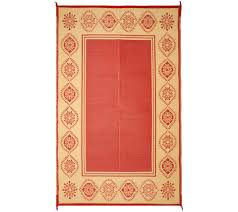 5x8 Outdoor Patio Rug Medallion Border 5x8 Outdoor Mat By Patiomats Page 1 U2014 Qvc Com