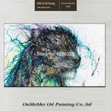 Home Decor For Cheap Wholesale by Online Get Cheap Tiger Oil Painting Aliexpress Com Alibaba Group