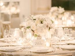 Wedding Reception Table Settings Captivating White Table Settings With Best 25 Table Settings Ideas