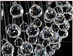 Crystal Chandelier Ball 204pcs Lot 30mm Clear Crystal Chandelier Ball Fengshui Crystal