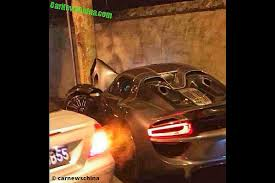porsche 918 crash porsche 918 spyder crash bilder autobild de