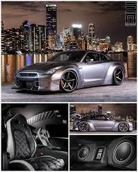 nissan gtr black edition body kit exclusive motoring worldwide