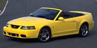 2004 Mustang Cobra Black 2004 Ford Mustang Values Nadaguides