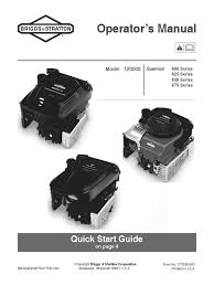 download briggs and stratton operating manual small engines