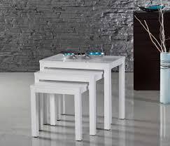 white nest of tables white nesting tables nesting tables to make more homelike the