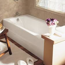 american standard spectra 66 x 32 cast iron soaking bathtub