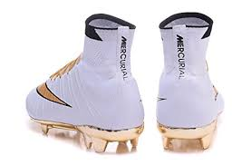 buy football boots dubai mens mercurial x10 superfly iv soccer boots white gold high top