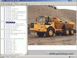 volvo construction equipment prosis 2011 spare parts catalog