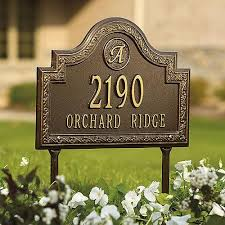 decorative house number signs amazing 29 best images about address