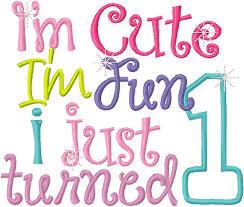 1st birthday girl 1st birthday girl embroidery applique design i m