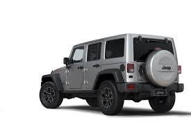 silver jeep rubicon 2 door jeep wrangler gets smoky rubicon x package in europe