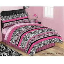 Pink Zebra Comforter Set Full Bedding Surprising Zebra Print Bedding Pink Black Comforter
