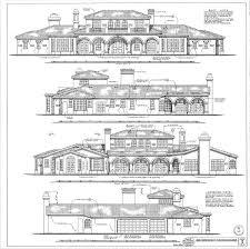 house elevation plans and unique house plans