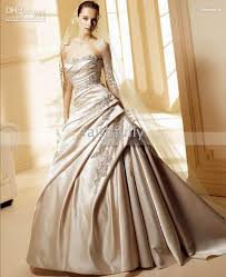 wedding dresses with color chagne color wedding dresses luxury brides