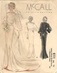 vintage wedding dress patterns vintage vogue patternvault