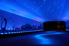 led design bigg design transforms a drab scottish underpass with dazzling led