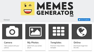 Memes App - memes generator app